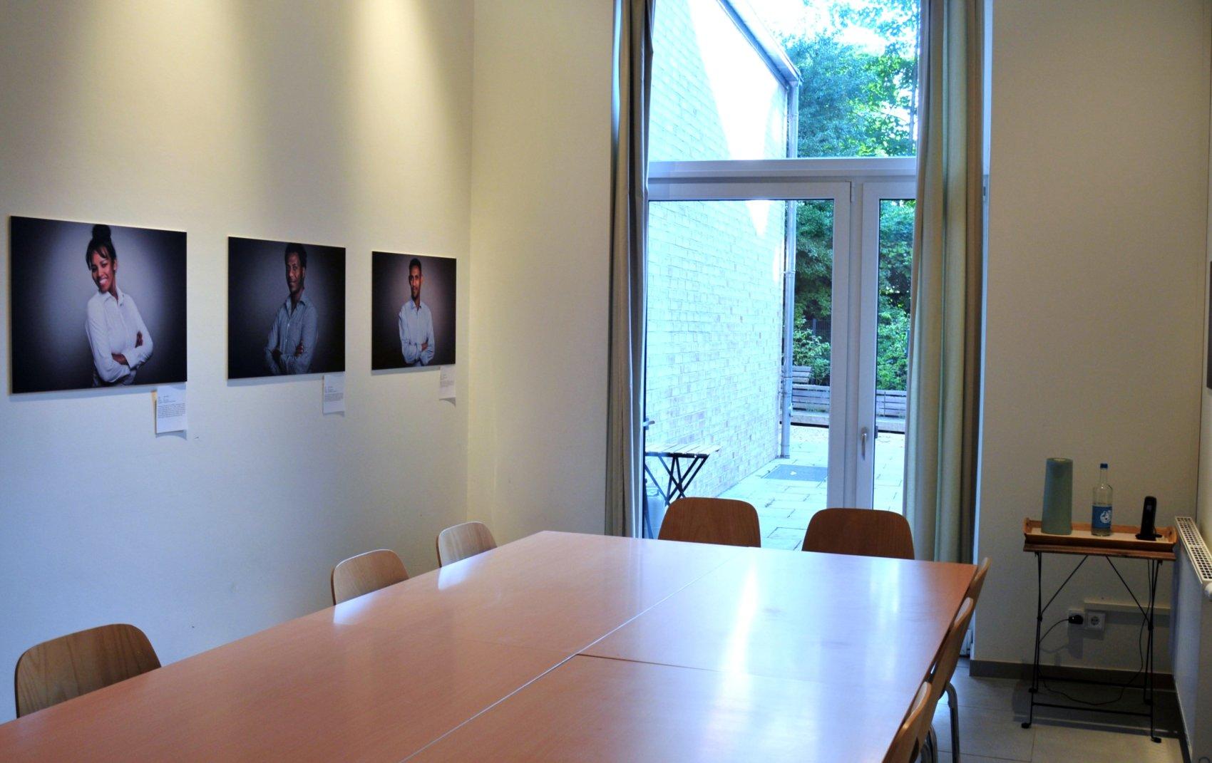 Foto vom Sitzungsraum der Herzkammer